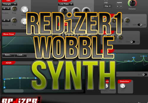 Ohdeo | REDiZER1 - Free Dubstep Bass Glitchy Super Synth - Ohdeo
